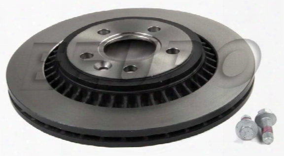Disc Brake Rotor - Rear (302mm) - Genuine Volvo 31471028