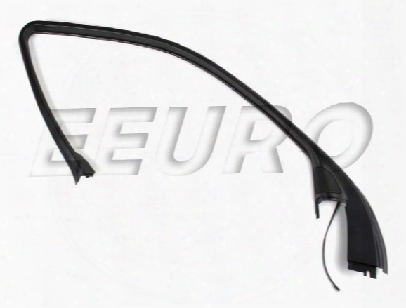 Door Cover Molding - Front Driver Side (w/ Switch) - Genuine Bmw 51328183731