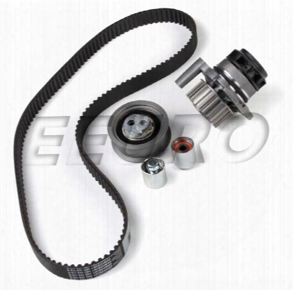 Engine Timing Belt Kit (w/ Water Pump) - Continental Tb334lk1 Vw