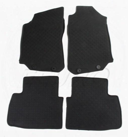 Floor Mat Set (all-weather) (black) - Genuine Saab 32026027