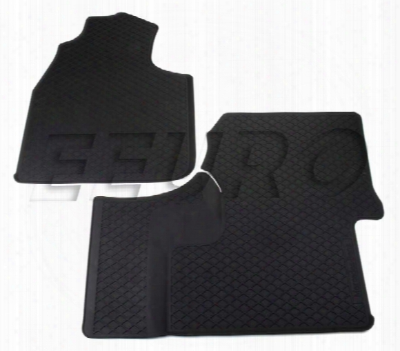 Floor Mat Set - Front (all-weather) (black) (w/o Floor Air Duct) 66570012