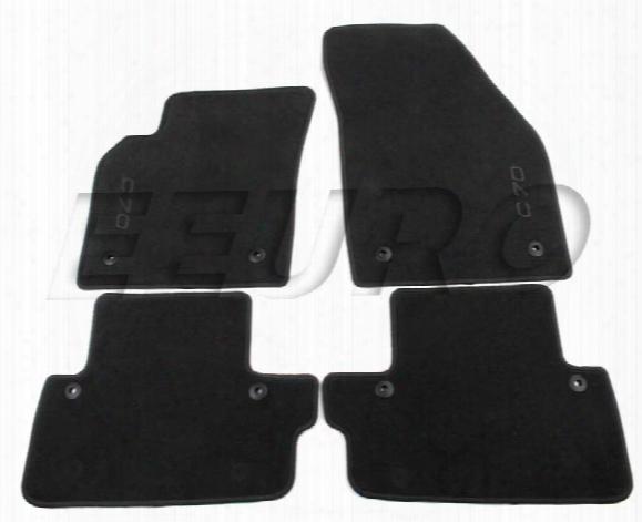 Floor Mat Set (off Black) - Genuine Volvo 39813715