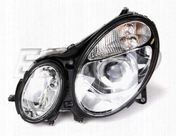 Headlight Assembly - Driver Side (xenon) - Hella 008369451 Mercedes 2118201761