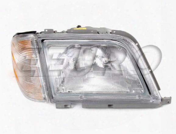 Headlight Assembly - Passenger Side - Hella 354457041 Mercedes 1298206861