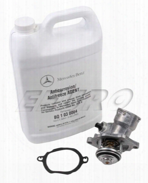 Mercedes Engine Coolant Thermostat Kit - Eeuroparts.com Kit
