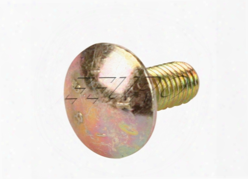 Saucer Head Bumper Screw - Genuine Bmw 07119910437