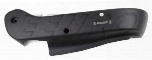 Seat Side Cover - Passenger Side (black) (w/ Memory) - Genuine Saab 12761172