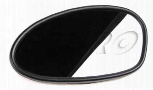 Side Mirror Glass - Driver Side (heated) - Genuine Bmw 51167177127