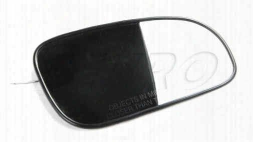 Side Mirror Glass - Passenger Side (wide Angle) - Genuine Volvo 9203127