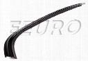 Window Trim - Rear Passenger Side (Black) - Genuine BMW 51138208406