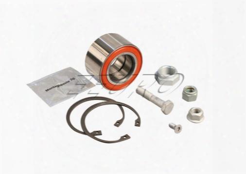 Wheel Bearing Kit - Front - Fag 7136101800 Vw 191498625