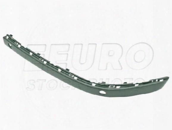 Bumper Impact Strip - Front Driver Side (un-painted) (w/ Park Assist) (chromeline) 51117142245