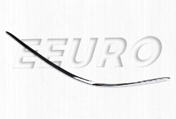 Bumper Trim Cover Insert - Front Driver Side (chrome) 2208850174