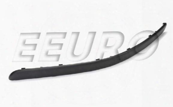 Bumper Trim Cover Insert - Front Driver Side (euro) - Genuine Saab 12787998