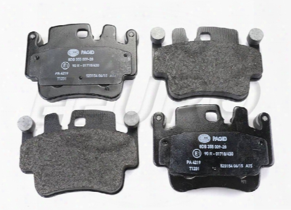 Disc Brake Pad Set - Front And Rear - Pagid 355009281 Porsche 99635294903