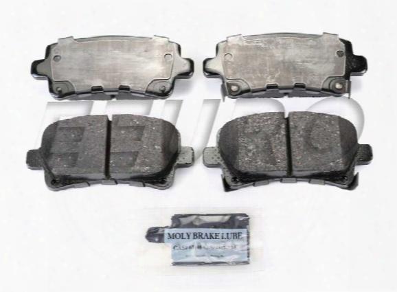 Disc Brake Pad Set - Rear (315mm) - Akebono Act1430 Saab 39021483