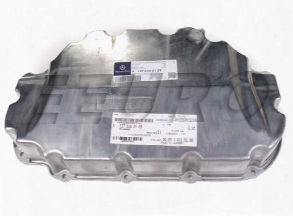 Engine Oil Pan - Lower - Genuine Mercedes 1370100128