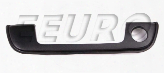 Genuine Bmw Exterior Door Handle Trim - Front Passenger Side (black) 51218400196