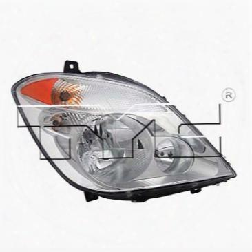 Headlight Assembly - Passenger Side (halogen) (capa) - Tyc 200969009 Mercedes