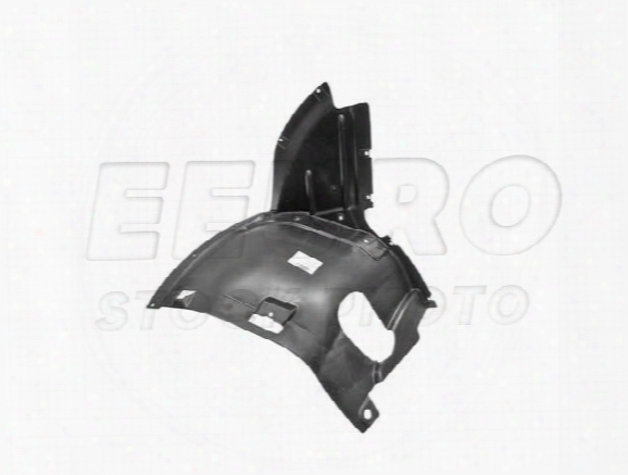 Inner Fender Liner - Front Driver Side Lower Front - Genuine Audi 8p0821191c