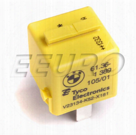 Relay - Rear (multi-purpose) (zinc Yellow) (5-pin) - Genuine Bmw 61361389105