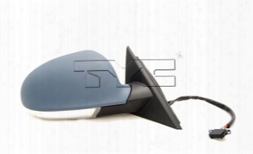 Side Mirror Assembly - Passenger Side (un-painted) (w/o Memory) Vw 3b1857508bb01c