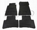 Floor Mat Set (All-Weather) (Black) - Genuine Mercedes Q6680344