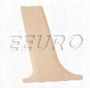 Genuine BMW B-Pillar Cover - Driver Side (Center Lower) (Sand Beige) 51438174443
