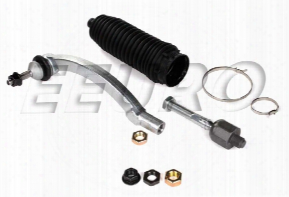 Tie Rod Assembly Kit - Front Driver Side - Febi 40555 Volvo