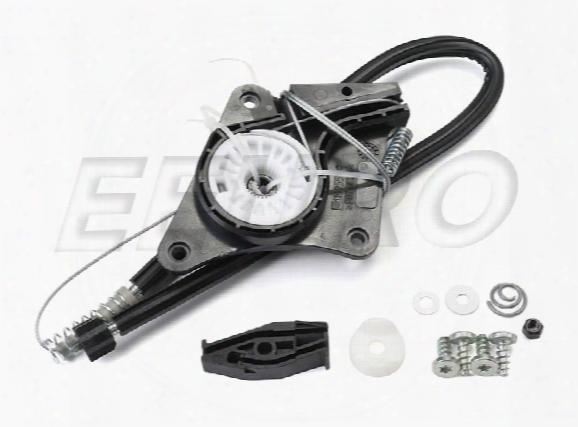 Window Regulator Repairr Kit - Rear Driver Side - Genuine Vw 1y0898291