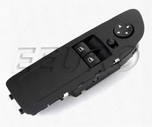 Window Switch - Front Driver Side (black) - Genuine Bmw 61319216523