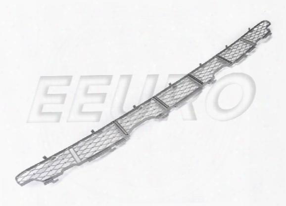 Bumper Cover Grille - Front Center (titanium Finish) - Genuine Bmw 51117123956