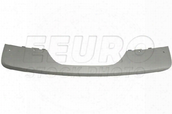 Bumper Cover Trim Panel - Rear Lower (matte Aluminum) - Genuine Bmw 51127227841