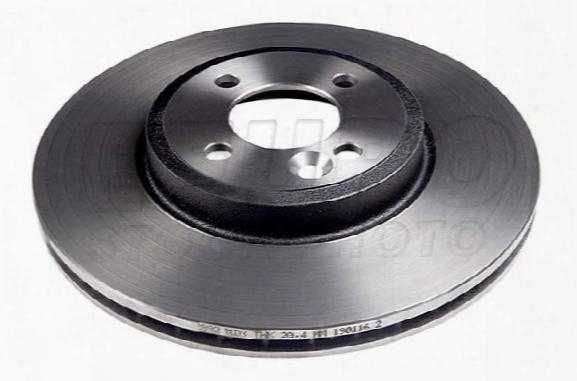 Disc Brake Rotor - Front (294mm) (jcw) (cross-drilled) Bmw 34116768933