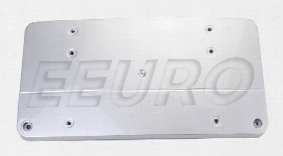 License Plate Mount - Front (brilliant Silver Metallic) 21088507819744