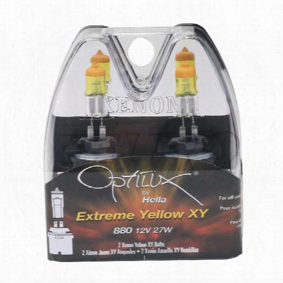 Light Bulb Set (880) (12v 275w) (optilux Extreme Yellow) - Hella H71071172