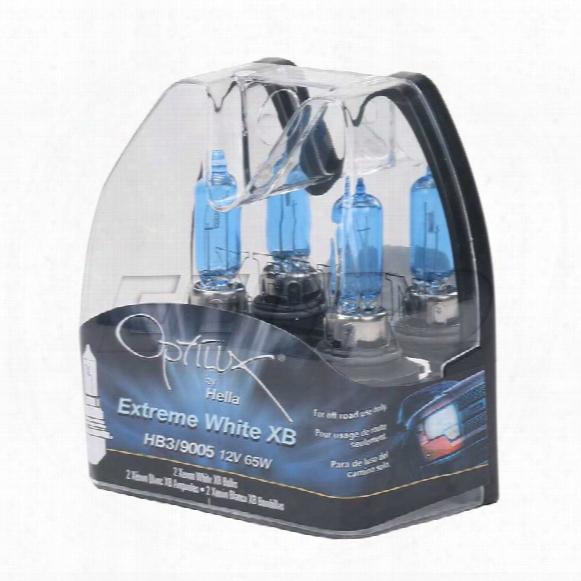 Light Bulb Set (9005) (12v 65w) (optilux Extreme White) - Hella H71071402