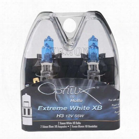 Light Bulb Set (h3) (12v 55w) (optilux Extreme Whitte) - Hella H71071312