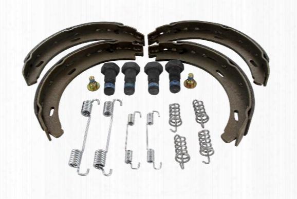Parking Brake Shoe Set - Vaico V300491 Mercedes 1404200920