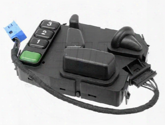 Power Seat Switch - Driver Side (w/ Steering Adjustment) Mercedes 2108208910