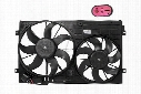 Auxiliary Cooling Fan Assembly - Passenger Side (150W/295mm) - OE Supplier