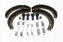 Parking Brake Shoe Set - VAICO V300491 Mercedes 1404200920