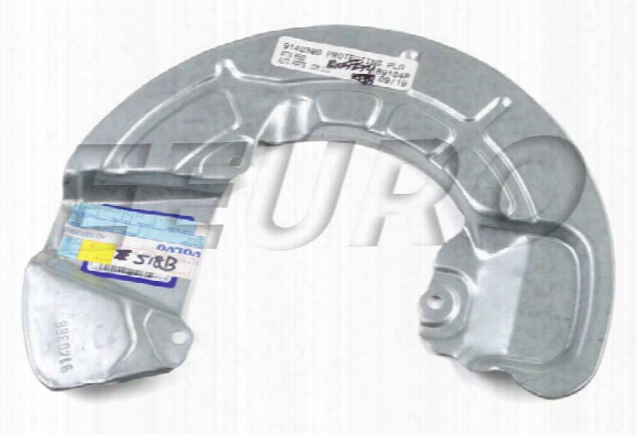 Disc Brake Rotor Backing Plate - Front Driver Side - Genuine Volvo 9140388