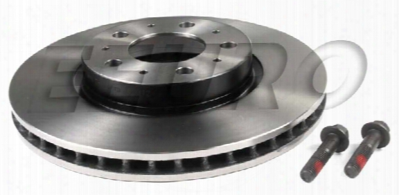 Disc Brake Rotor - Front (280mm) - Genuine Volvo 31262092