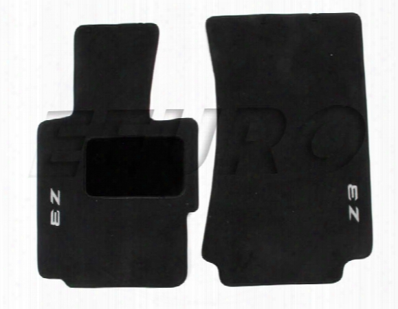 Floor Mat Set - Front (z3) (black) - Genuine Bmw 82111470158