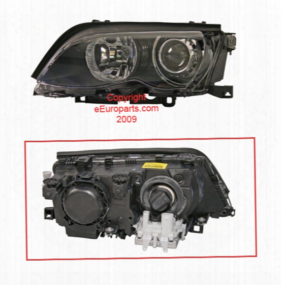 Headlight - Driver Side (xenon) - Bosch 0302488271 Bmw 63127165779
