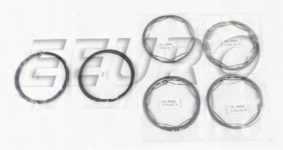 Piston Ring Set (std) - Deves 27516 Saab 8821886