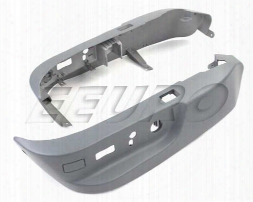 Seat Lower Switch Cover Set (light Gray) - Genuine Bmw 52107058009