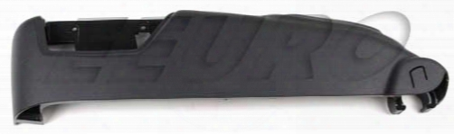 Seat Side Cover - Driver Side (gray) - Genuine Volvo 39802011