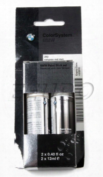 Touch-up Paint (code 252) (calypso Red) - Genuine Bmw 51910419776